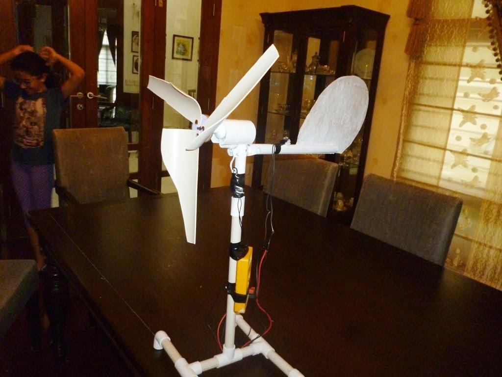 mini wind turbine project pdf