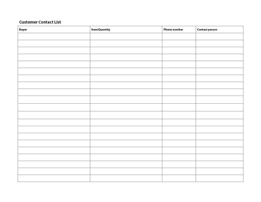 repairing list email sample