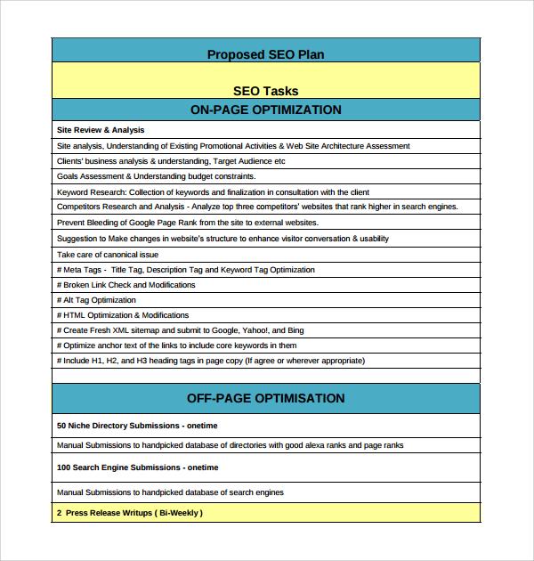 seo business plan pdf