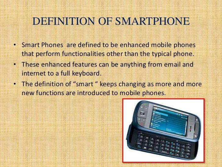 smartphone definition pdf