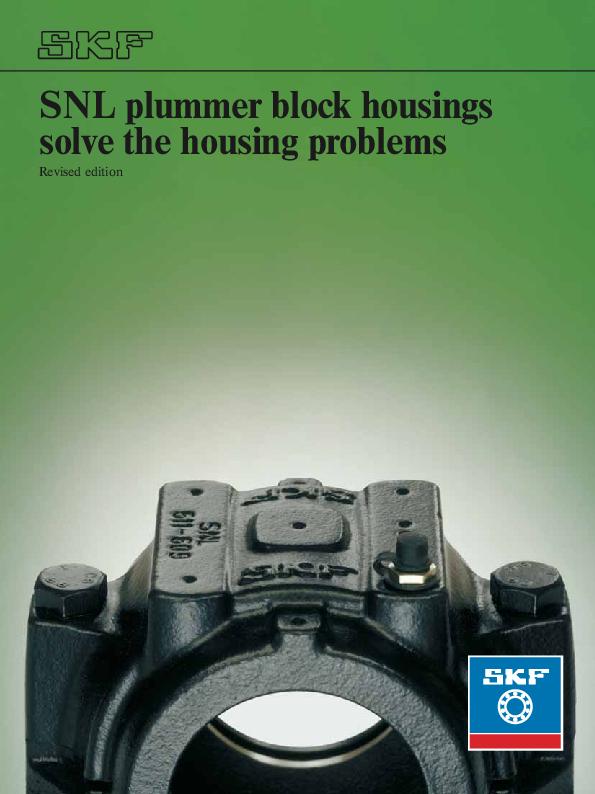 skf bearing housing catalogue pdf