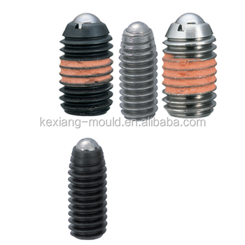 spring loaded guide plungers