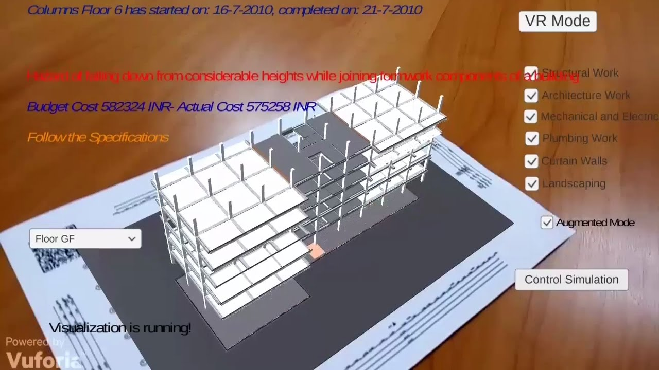 vr application in construction