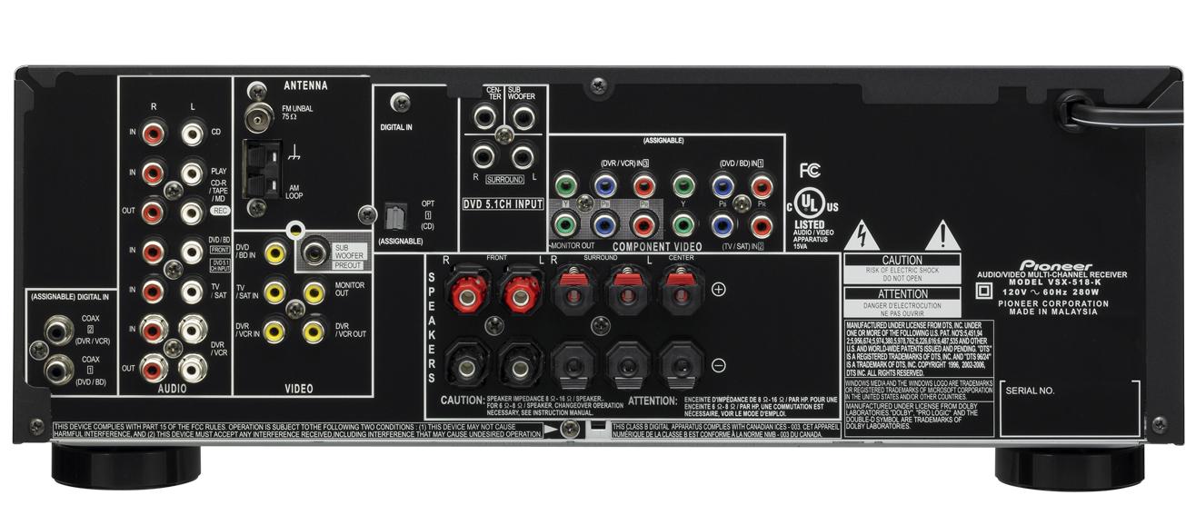 pioneer vsx 817 manual