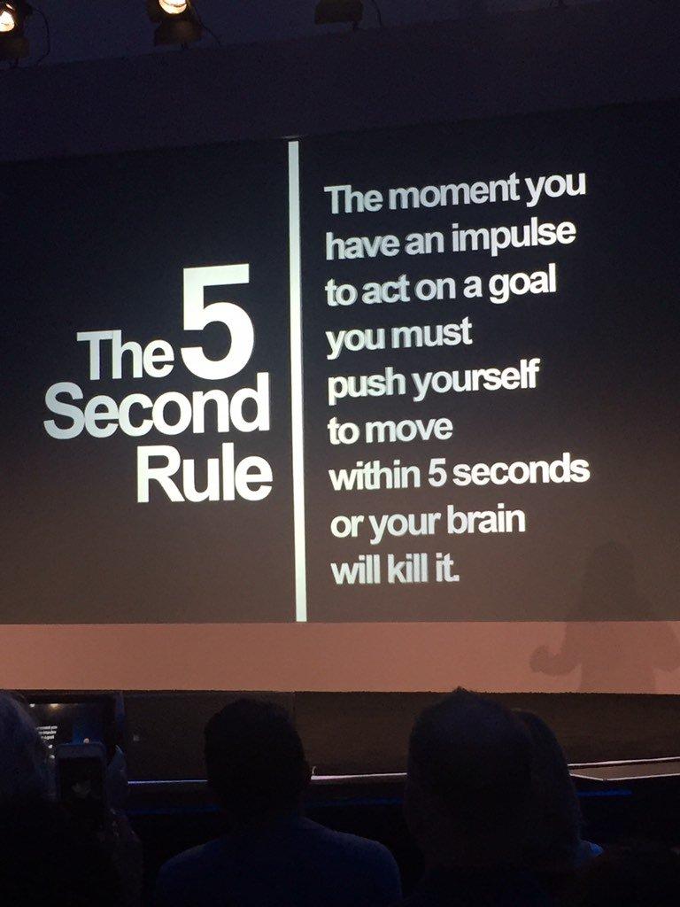 mel robbins 5 second rule pdf