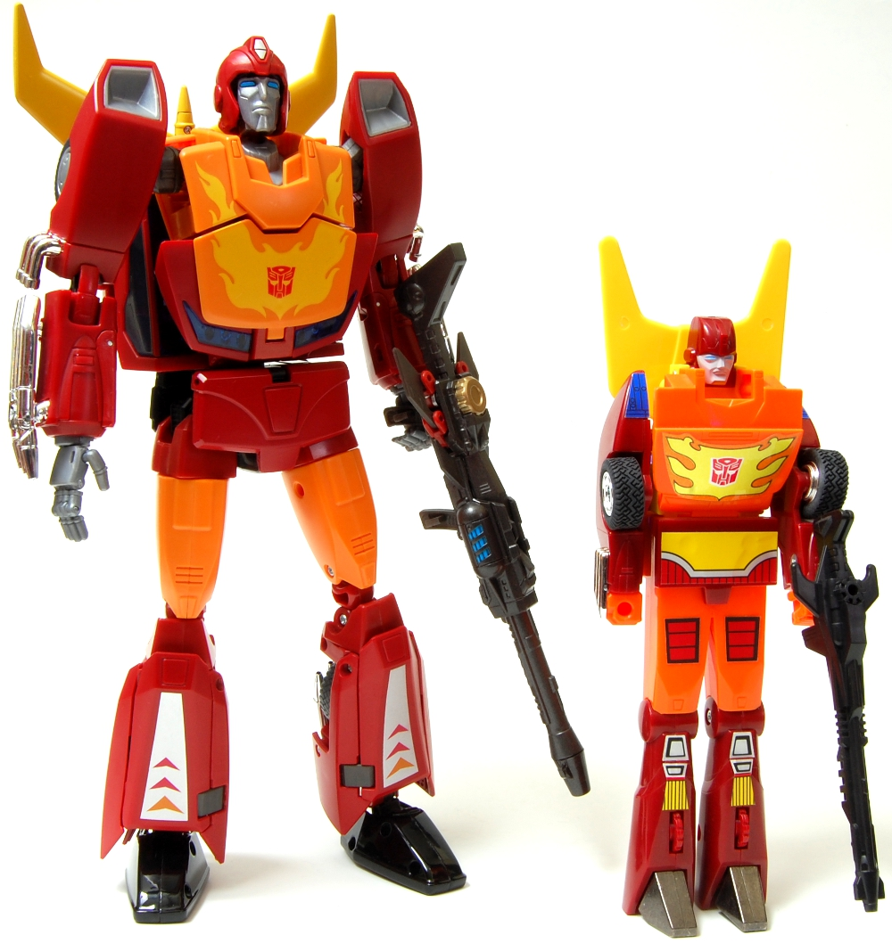 masterpiece rodimus prime instructions