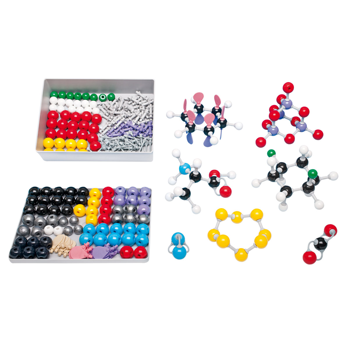 molymod molecular model kit instructions