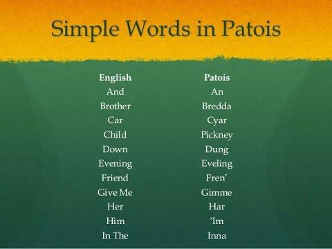 trinidad language dictionary