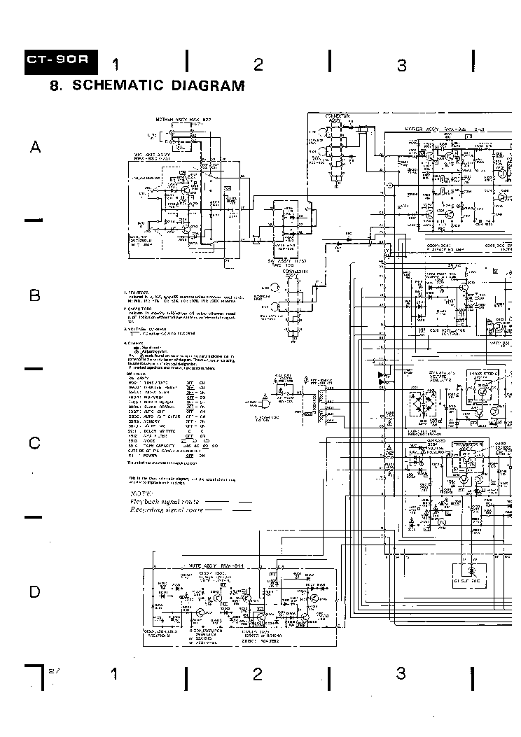 pioneer ct s220 service manual