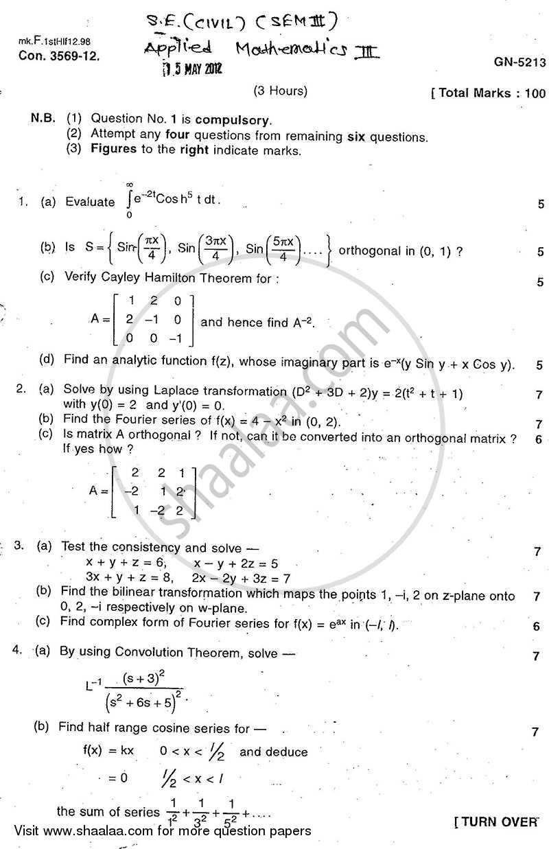 university mathematics pdf