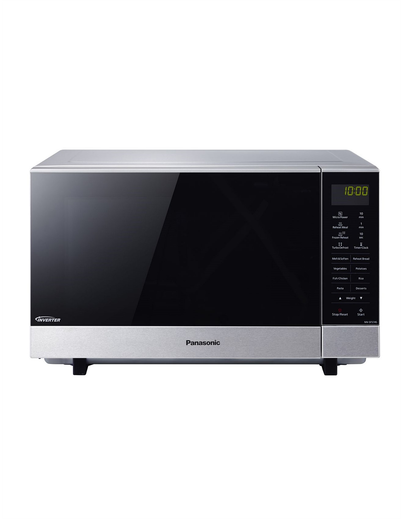 panasonic inverter microwave nn-sf564w manual