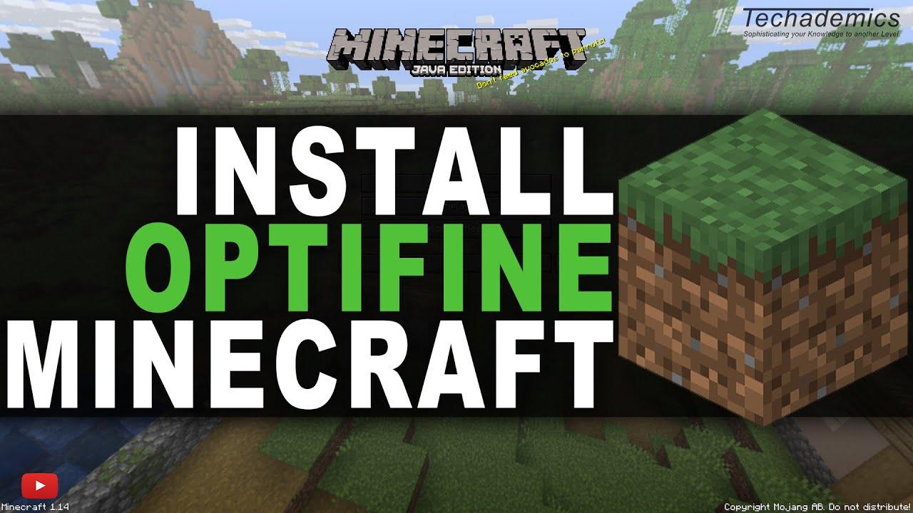 minecraft optifine install guide