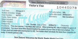 new zealand passport application