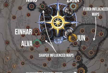 poe shaper orb guide
