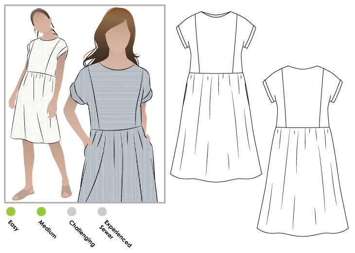 slip dress pattern pdf