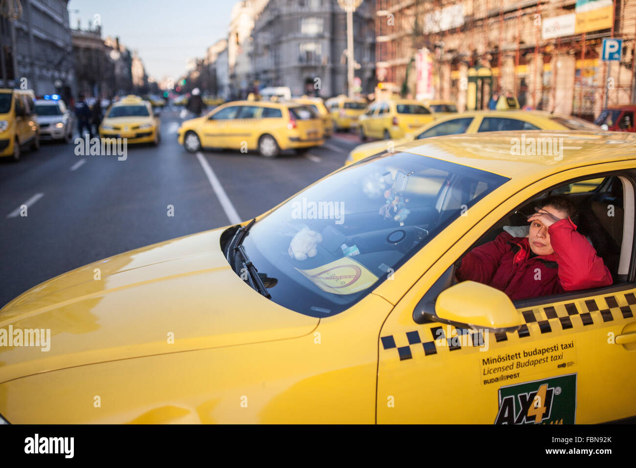 taxi application budapest