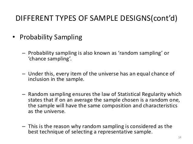 what is a representative sample size