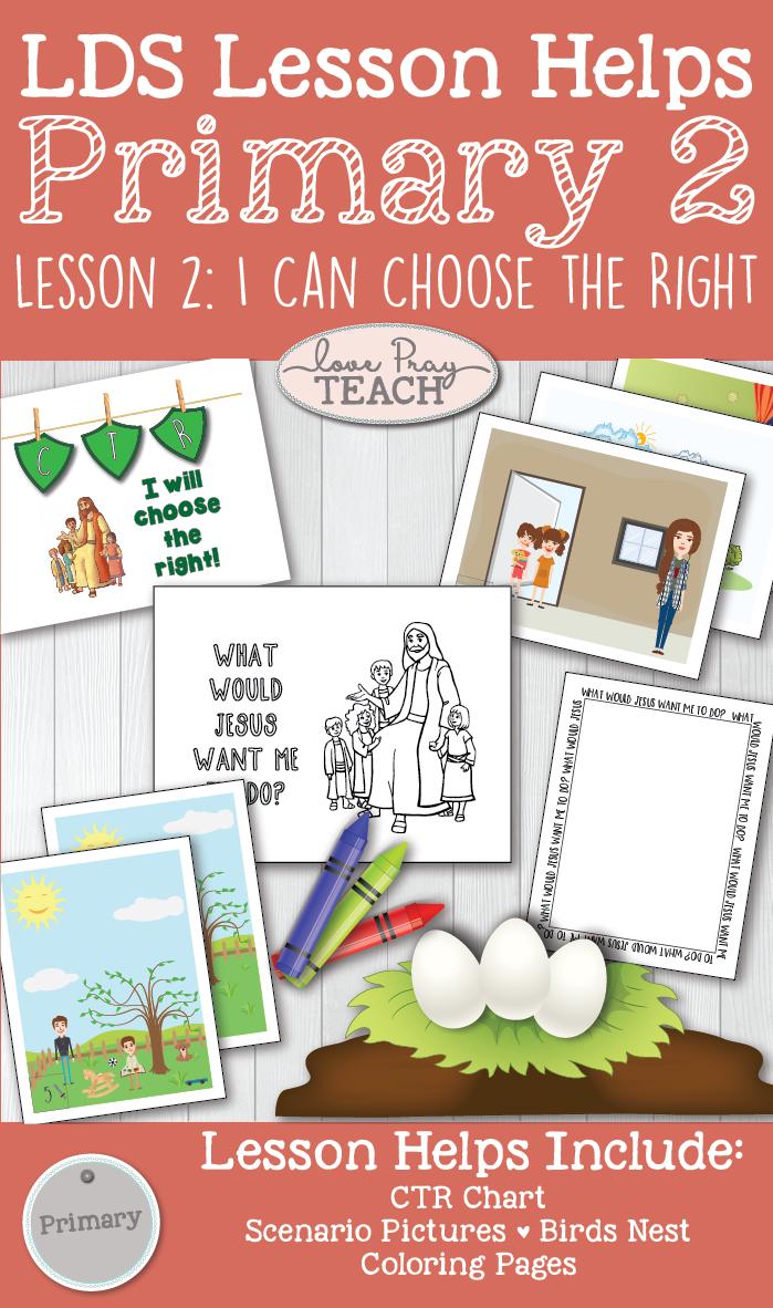 primary manual lesson 2