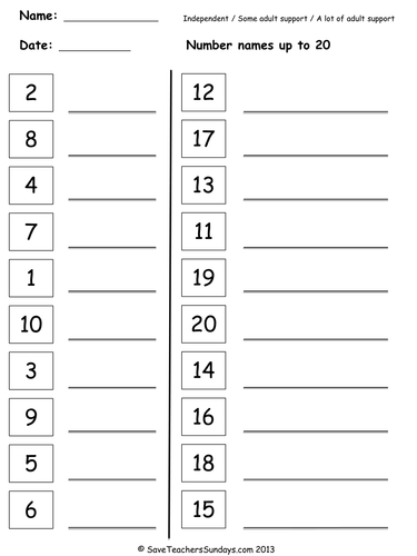 writing numbers in words worksheets grade 1 pdf