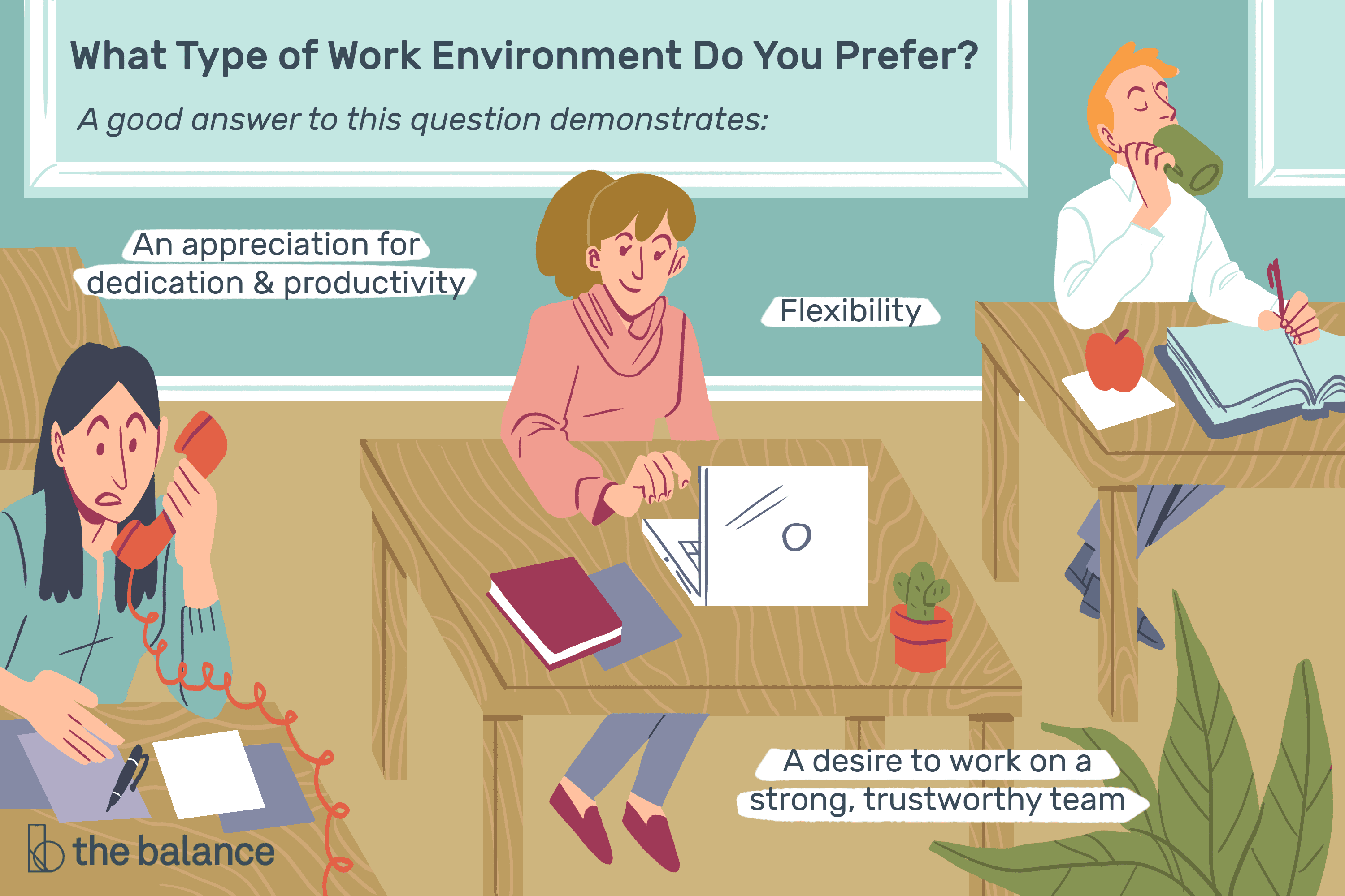 what type of work environment do you prefer sample answer