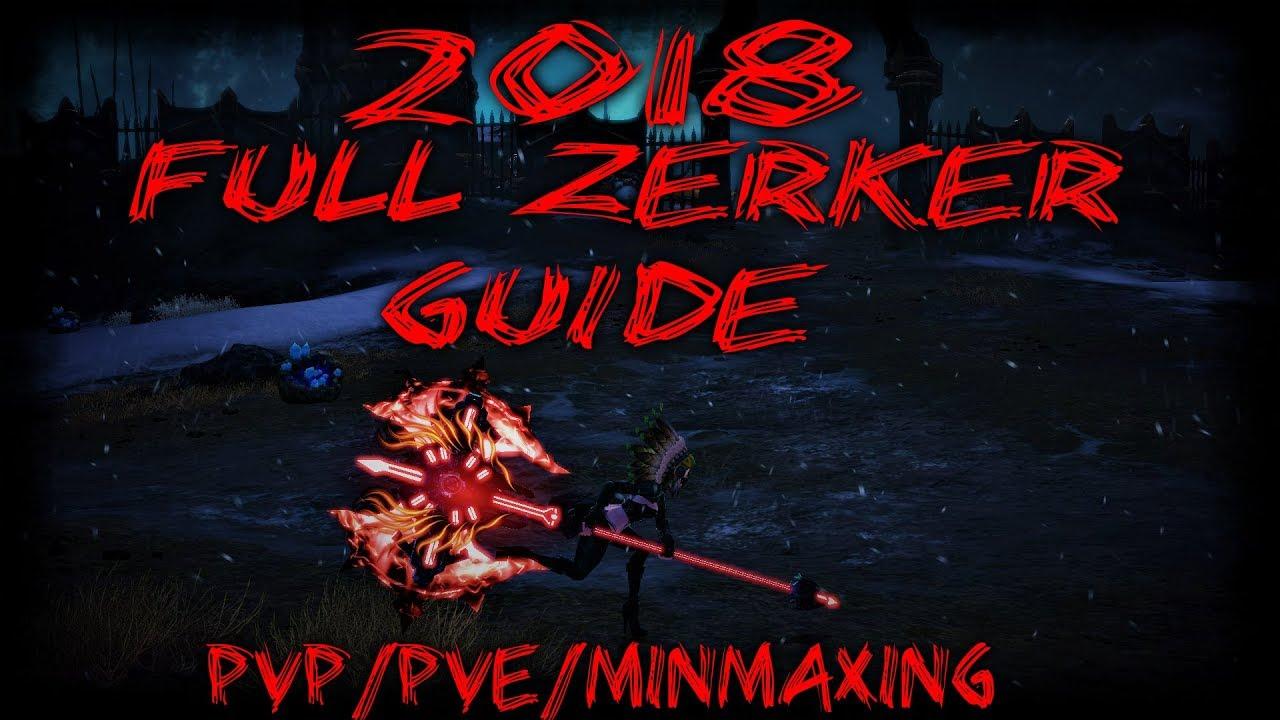 zerker guide