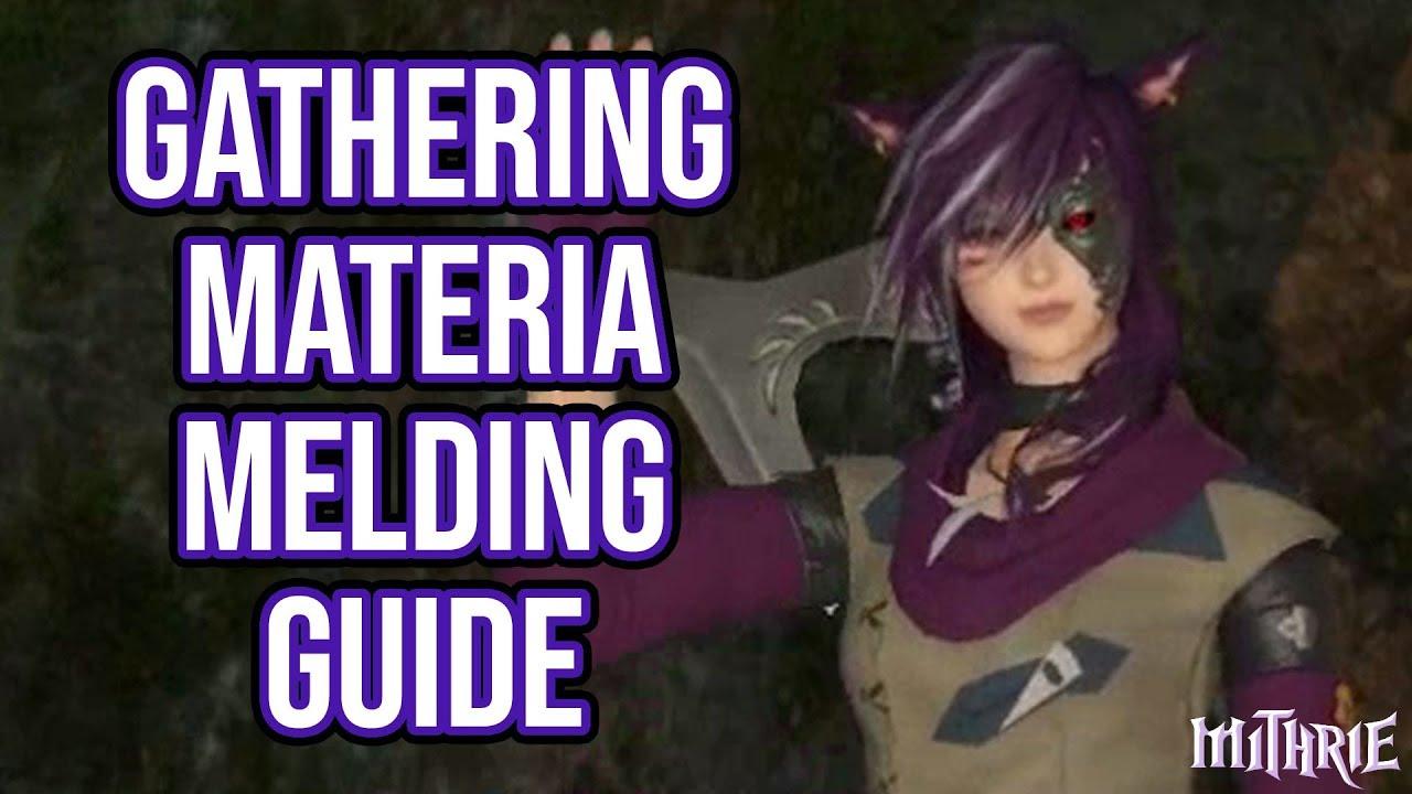 materia melding guide