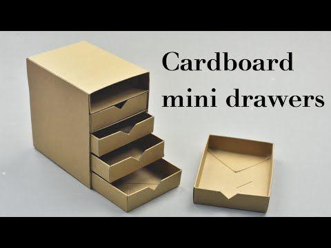 mini drawers instructions
