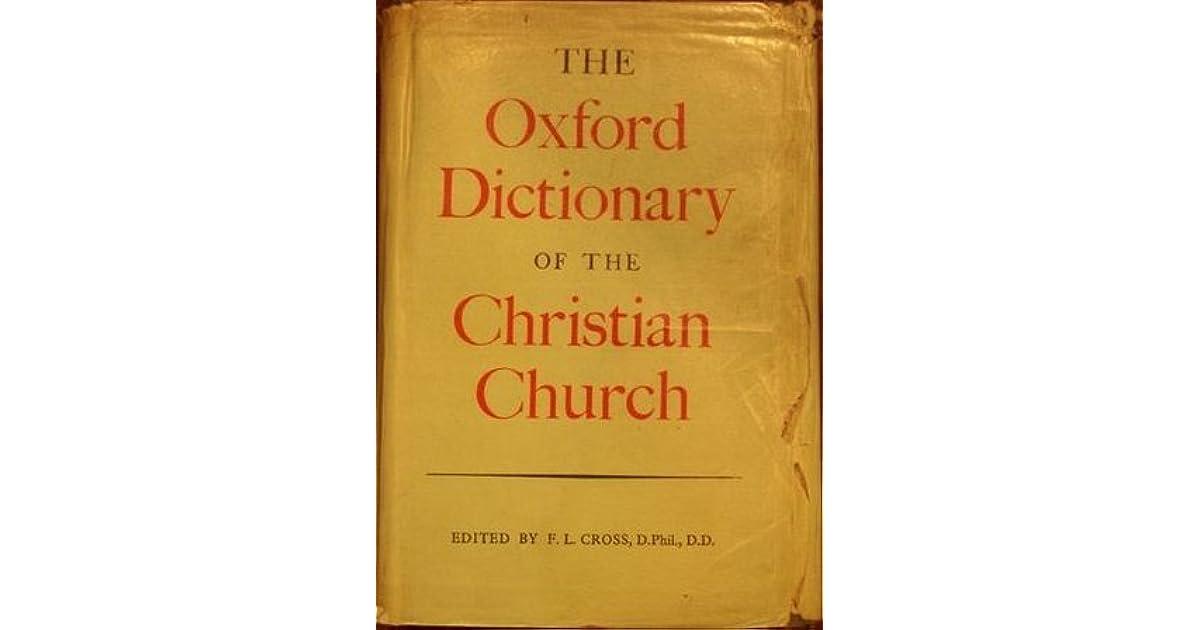 religious oxford dictionary