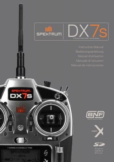 spektrum dx7 manual download
