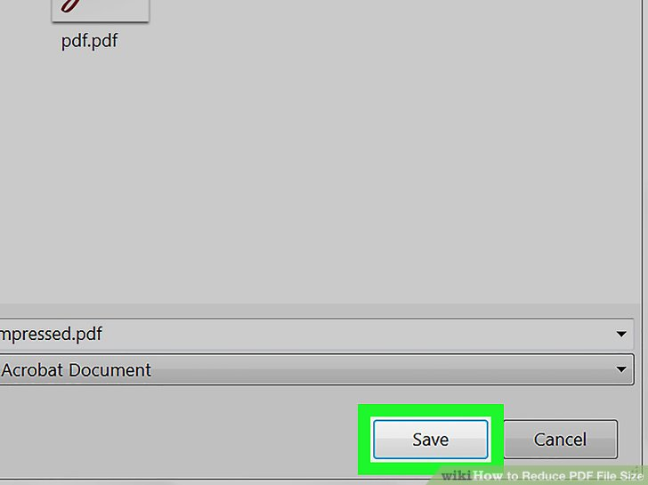 minimize pdf file size