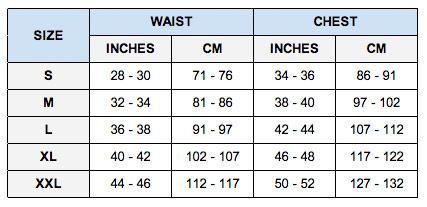 tommy hilfiger size guide uk