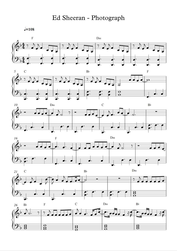 music notes only buy pdf