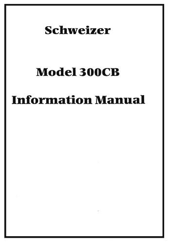 schweizer 300c pilot operating handbook