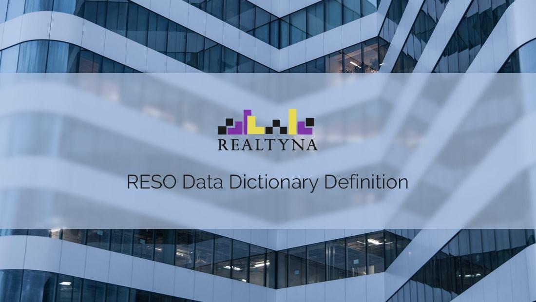 realty dictionary