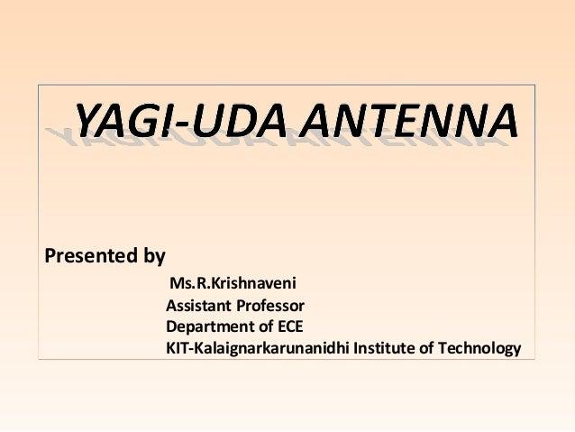 yagi uda antenna pdf