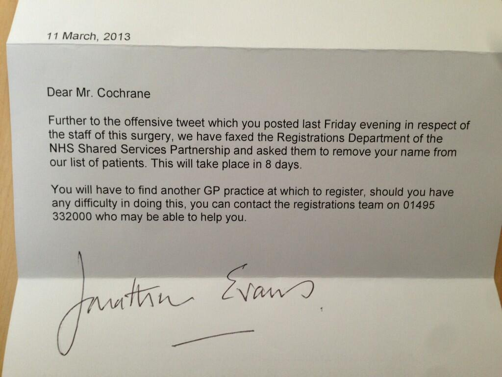 sample letter to patient unable to contact by phone