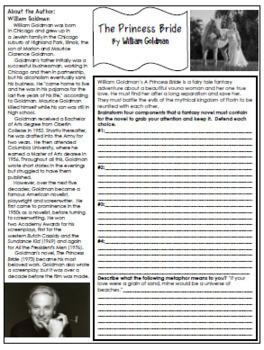 princess bride book pdf