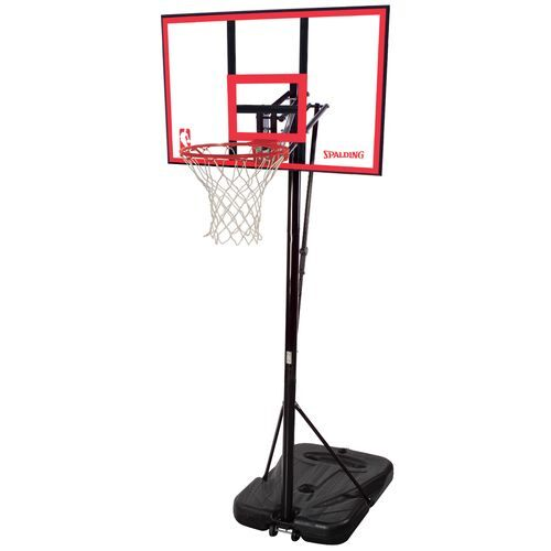 spalding basketball hoop instructions