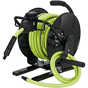 portable manual air hose reel
