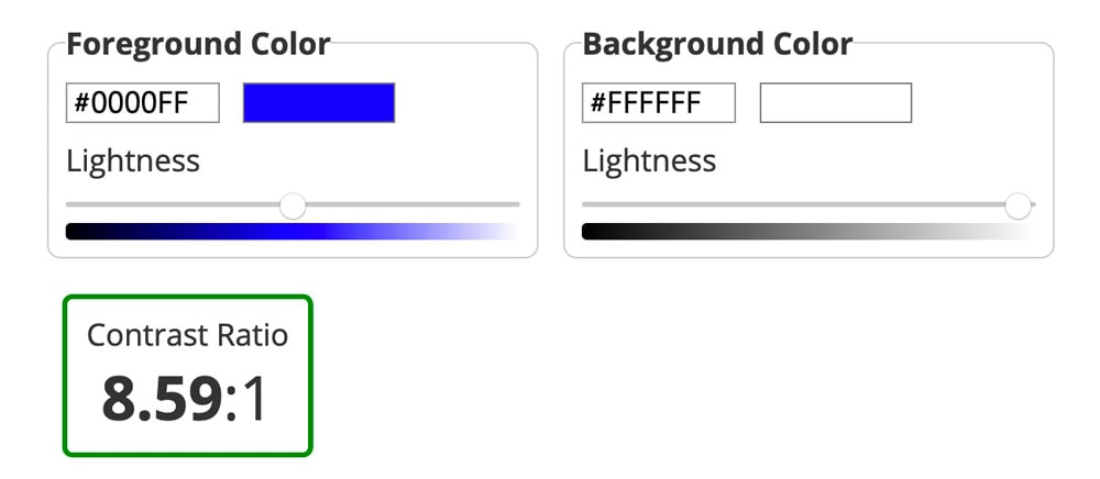 pdf color contrast checker