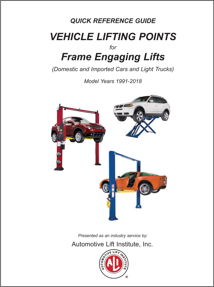 vehicle lifting points pdf