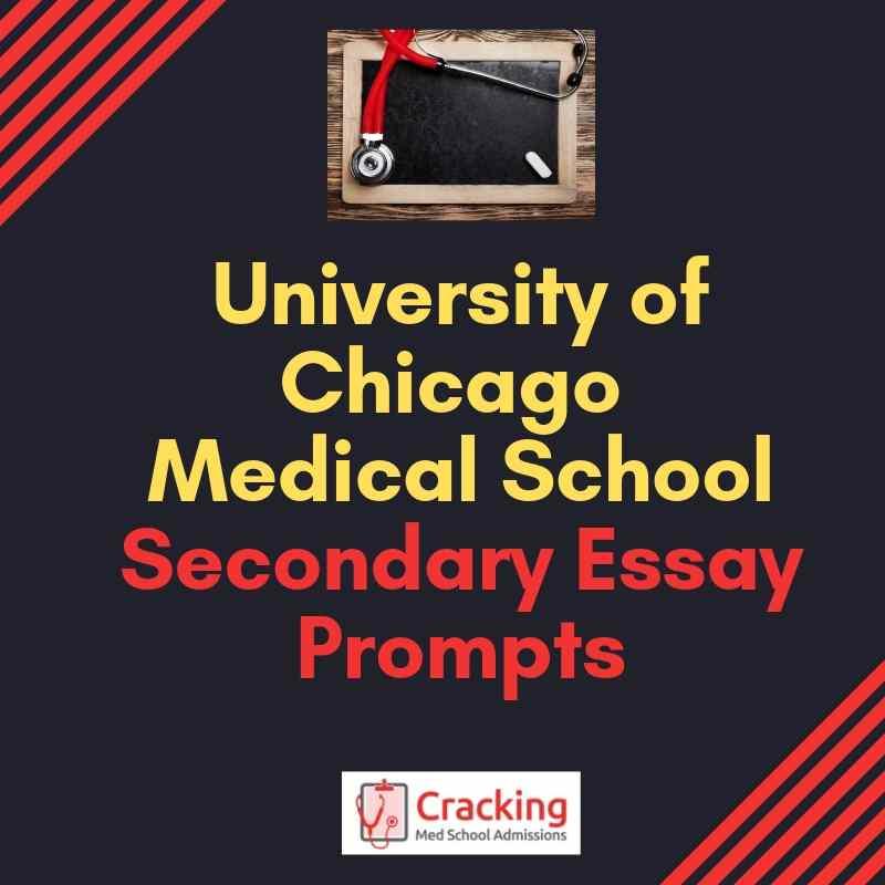 university of chicago application