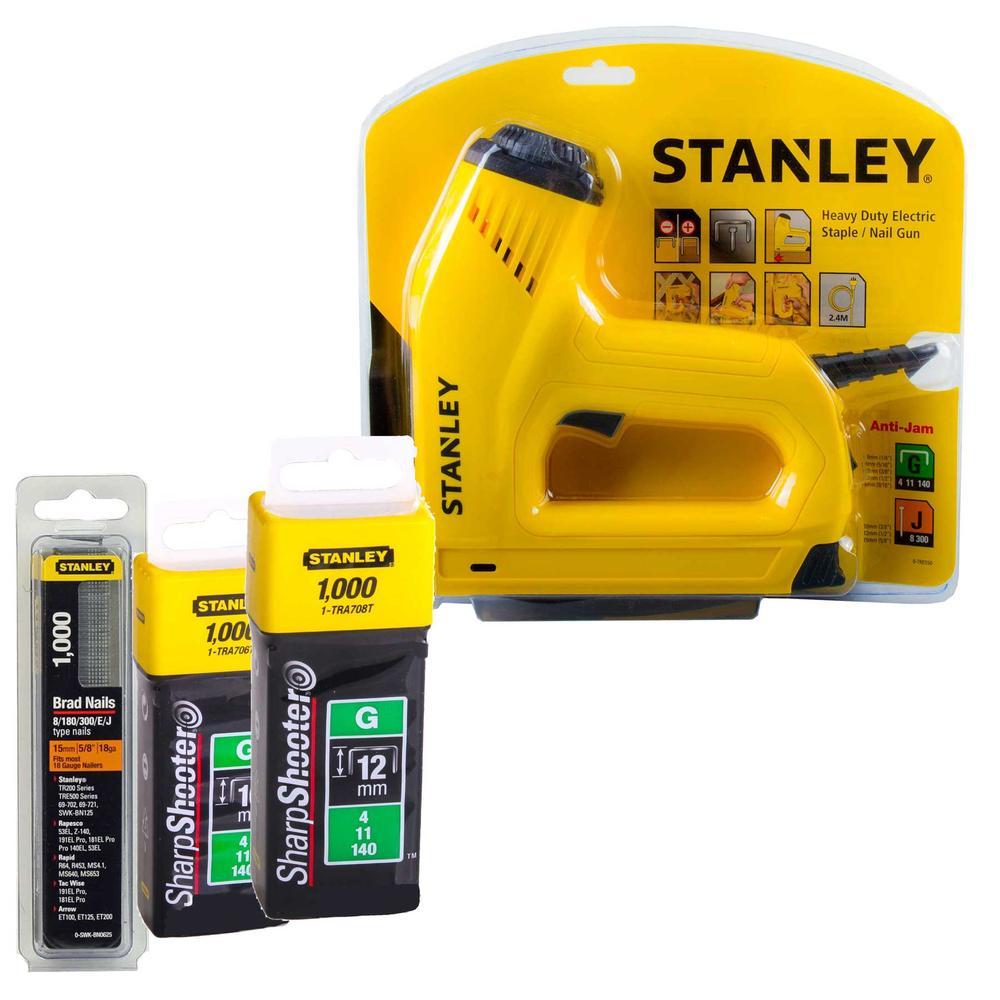 stanley electric staple gun instructions