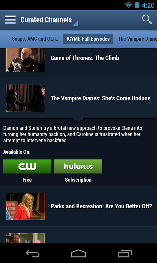 tv guide app