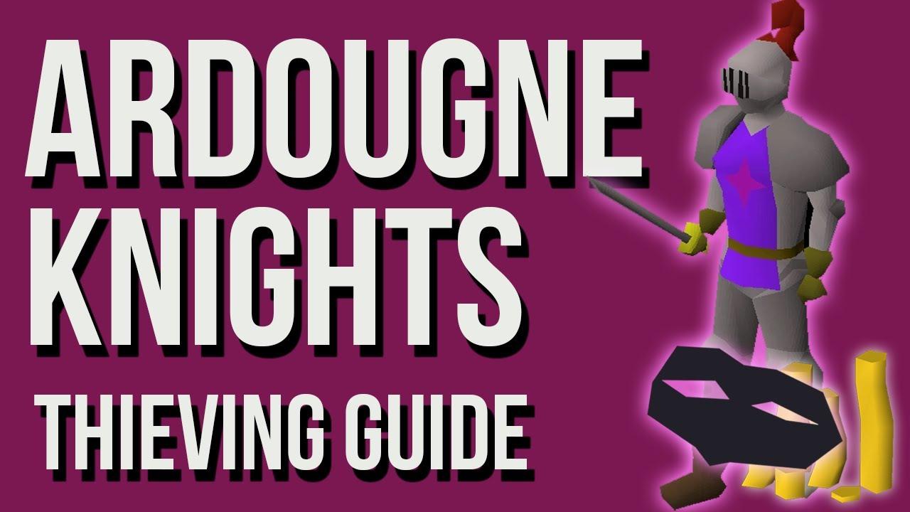 osrs ardougne knights guide