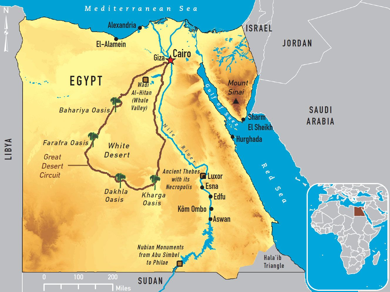 nile delta travel guide