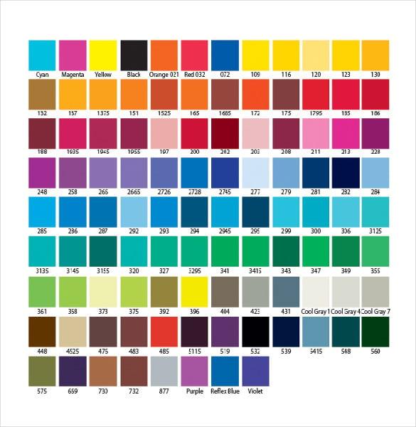 pantone textile color guide