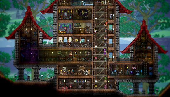 terraria building guide