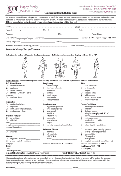 musculoskeletal physiotherapy assessment form pdf