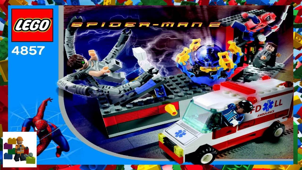 spiderman lego instructions